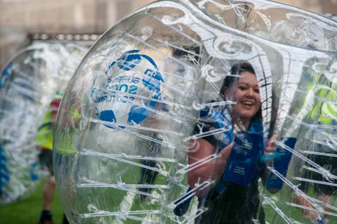 Bubble Soccer Scotland Childrens Birthday Parties - Childrens birthday party ideas edinburgh